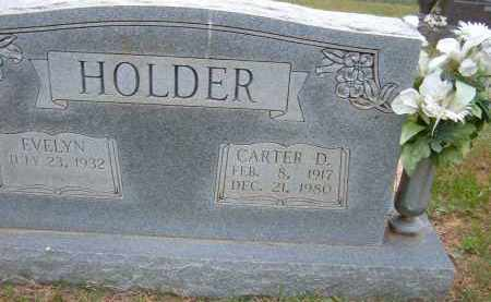 HOLDER, CARTER D. - Pulaski County, Arkansas | CARTER D. HOLDER - Arkansas Gravestone Photos