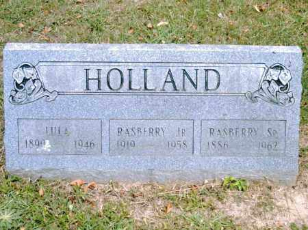 HOLLAND, SR., RASPBERRY - Pulaski County, Arkansas | RASPBERRY HOLLAND, SR. - Arkansas Gravestone Photos