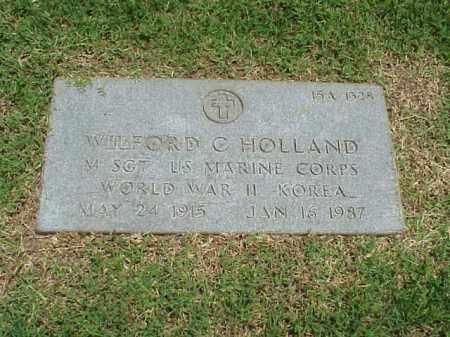 HOLLAND (VETERAN 2 WARS), WILFORD C - Pulaski County, Arkansas | WILFORD C HOLLAND (VETERAN 2 WARS) - Arkansas Gravestone Photos