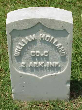 HOLLAND (VETERAN UNION), WILLIAM - Pulaski County, Arkansas | WILLIAM HOLLAND (VETERAN UNION) - Arkansas Gravestone Photos
