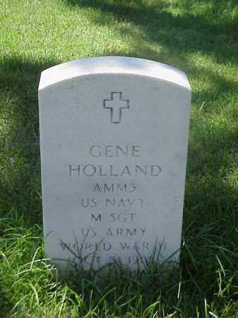 HOLLAND (VETERAN WWII), GENE - Pulaski County, Arkansas   GENE HOLLAND (VETERAN WWII) - Arkansas Gravestone Photos