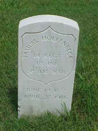 HOLLENBECK (VETERAN SAW), SAMUEL - Pulaski County, Arkansas | SAMUEL HOLLENBECK (VETERAN SAW) - Arkansas Gravestone Photos