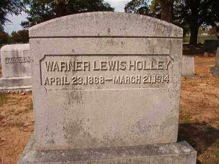 HOLLEY, WARNER LEWIS - Pulaski County, Arkansas | WARNER LEWIS HOLLEY - Arkansas Gravestone Photos