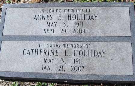 HOLLIDAY, CATHERINE L - Pulaski County, Arkansas | CATHERINE L HOLLIDAY - Arkansas Gravestone Photos