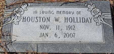 HOLLIDAY, HOUSTON W - Pulaski County, Arkansas   HOUSTON W HOLLIDAY - Arkansas Gravestone Photos