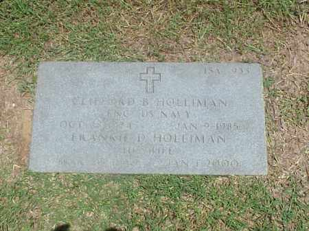 HOLLIMAN (VETERAN WWII), CLIFFORD B - Pulaski County, Arkansas | CLIFFORD B HOLLIMAN (VETERAN WWII) - Arkansas Gravestone Photos