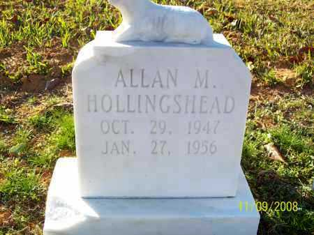 HOLLINGSHEAD, ALLAN M - Pulaski County, Arkansas | ALLAN M HOLLINGSHEAD - Arkansas Gravestone Photos
