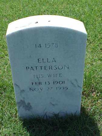 PATTERSON HOLLINGSWORTH, ELLA - Pulaski County, Arkansas | ELLA PATTERSON HOLLINGSWORTH - Arkansas Gravestone Photos
