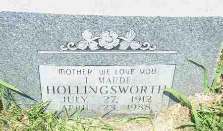 HOLLINGSWORTH, J. MAUDE - Pulaski County, Arkansas | J. MAUDE HOLLINGSWORTH - Arkansas Gravestone Photos