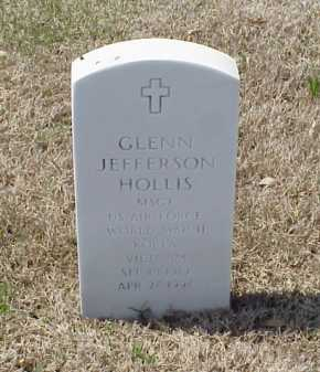 HOLLIS (VETERAN 3 WARS), GLENN JEFFERSON - Pulaski County, Arkansas | GLENN JEFFERSON HOLLIS (VETERAN 3 WARS) - Arkansas Gravestone Photos