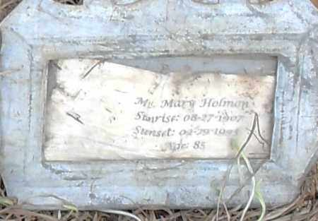 HOLLMAN, MARY - Pulaski County, Arkansas | MARY HOLLMAN - Arkansas Gravestone Photos