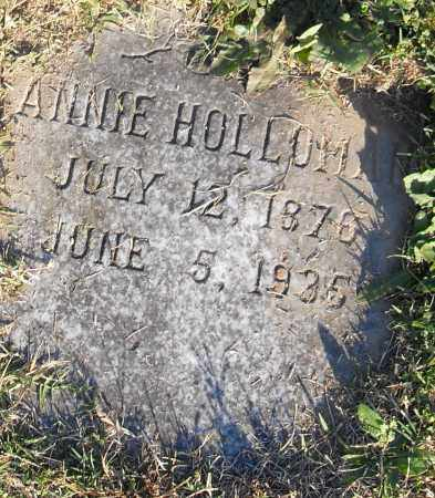 HOLLOMAN, ANNIE - Pulaski County, Arkansas | ANNIE HOLLOMAN - Arkansas Gravestone Photos