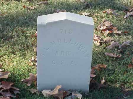 HOLLOWAY  (VETERAN CSA), S L - Pulaski County, Arkansas | S L HOLLOWAY  (VETERAN CSA) - Arkansas Gravestone Photos