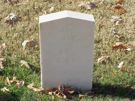 HOLLOWAY  (VETERAN CSA), S T - Pulaski County, Arkansas | S T HOLLOWAY  (VETERAN CSA) - Arkansas Gravestone Photos