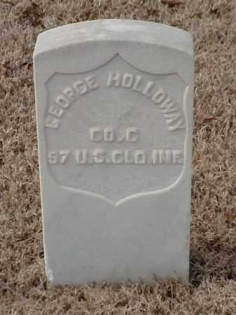 HOLLOWAY  (VETERAN UNION), GEORGE - Pulaski County, Arkansas | GEORGE HOLLOWAY  (VETERAN UNION) - Arkansas Gravestone Photos
