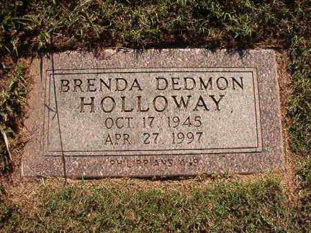 HOLLOWAY, BRENDA - Pulaski County, Arkansas | BRENDA HOLLOWAY - Arkansas Gravestone Photos