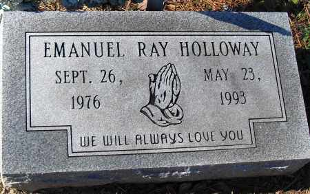 HOLLOWAY, EMANUEL RAY - Pulaski County, Arkansas | EMANUEL RAY HOLLOWAY - Arkansas Gravestone Photos