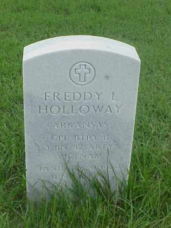 HOLLOWAY (VETERAN VIET), FREDDY L - Pulaski County, Arkansas | FREDDY L HOLLOWAY (VETERAN VIET) - Arkansas Gravestone Photos