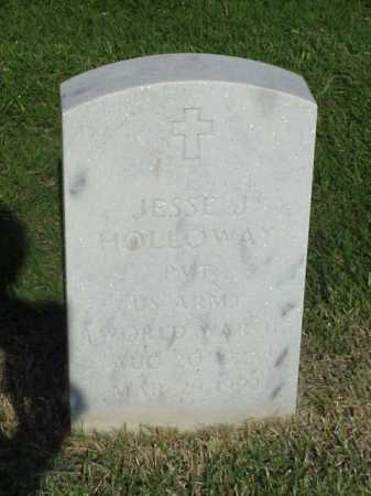 HOLLOWAY (VETERAN WWII), JESSE J - Pulaski County, Arkansas   JESSE J HOLLOWAY (VETERAN WWII) - Arkansas Gravestone Photos