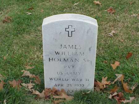 HOLMAN, SR (VETERAN WWII), JAMES WILLIAM - Pulaski County, Arkansas | JAMES WILLIAM HOLMAN, SR (VETERAN WWII) - Arkansas Gravestone Photos