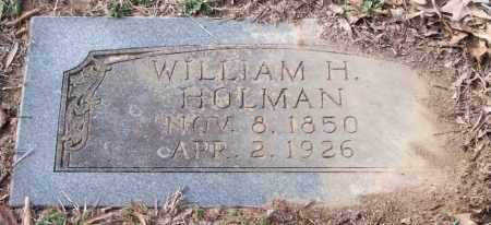 HOLMAN, WILLIAM H. - Pulaski County, Arkansas | WILLIAM H. HOLMAN - Arkansas Gravestone Photos