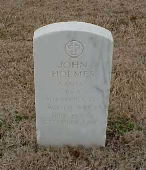 HOLMES  (VETERAN WWI), JOHN - Pulaski County, Arkansas | JOHN HOLMES  (VETERAN WWI) - Arkansas Gravestone Photos