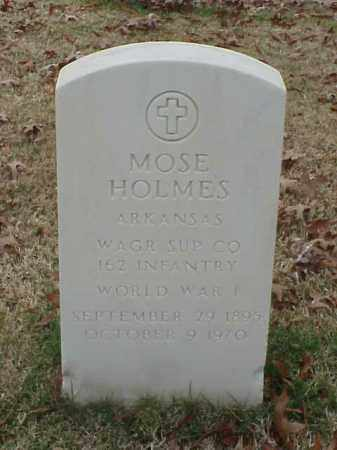 HOLMES  (VETERAN WWI), MOSE - Pulaski County, Arkansas | MOSE HOLMES  (VETERAN WWI) - Arkansas Gravestone Photos