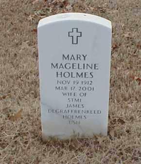 HOLMES, MARY MAGELINE - Pulaski County, Arkansas | MARY MAGELINE HOLMES - Arkansas Gravestone Photos