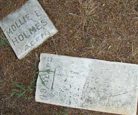 HOLMES, MOLLIE  B. - Pulaski County, Arkansas | MOLLIE  B. HOLMES - Arkansas Gravestone Photos