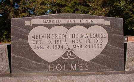 HOLMES, THELMA LOUISE - Pulaski County, Arkansas | THELMA LOUISE HOLMES - Arkansas Gravestone Photos