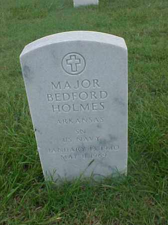 HOLMES (VETERAN), MAJOR BEDFORD - Pulaski County, Arkansas | MAJOR BEDFORD HOLMES (VETERAN) - Arkansas Gravestone Photos