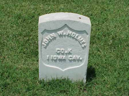 HOLMES (VETERAN UNION), JOHN W - Pulaski County, Arkansas | JOHN W HOLMES (VETERAN UNION) - Arkansas Gravestone Photos