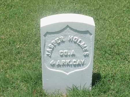 HOLMES (VETERAN UNION), JASPER - Pulaski County, Arkansas | JASPER HOLMES (VETERAN UNION) - Arkansas Gravestone Photos