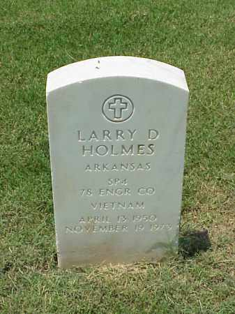 HOLMES (VETERAN VIET), LARRY D - Pulaski County, Arkansas | LARRY D HOLMES (VETERAN VIET) - Arkansas Gravestone Photos