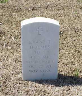 HOLMES (VETERAN WWII), EVANS T - Pulaski County, Arkansas | EVANS T HOLMES (VETERAN WWII) - Arkansas Gravestone Photos