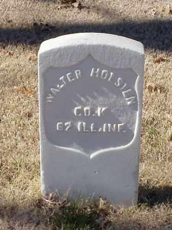 HOLSTEN  (VETERAN UNION), WALTER - Pulaski County, Arkansas | WALTER HOLSTEN  (VETERAN UNION) - Arkansas Gravestone Photos