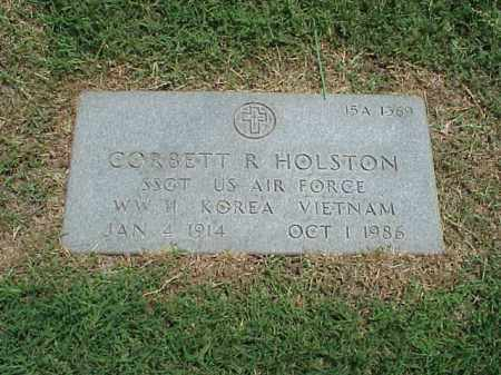 HOLSTON (VETERAN 3 WARS), CORBETT R - Pulaski County, Arkansas | CORBETT R HOLSTON (VETERAN 3 WARS) - Arkansas Gravestone Photos