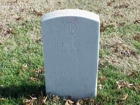 HOLT  (VETERAN WWII), ULYSSES C - Pulaski County, Arkansas | ULYSSES C HOLT  (VETERAN WWII) - Arkansas Gravestone Photos
