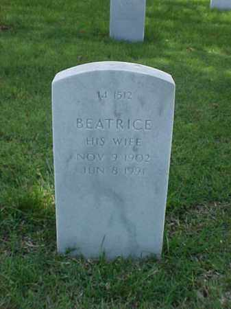 HOLT, BEATRICE - Pulaski County, Arkansas | BEATRICE HOLT - Arkansas Gravestone Photos