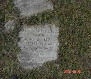 HOLT, DAUGHTER - Pulaski County, Arkansas | DAUGHTER HOLT - Arkansas Gravestone Photos