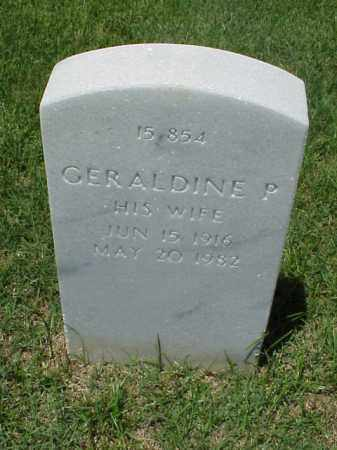 HOLT, GERALDINE P - Pulaski County, Arkansas | GERALDINE P HOLT - Arkansas Gravestone Photos