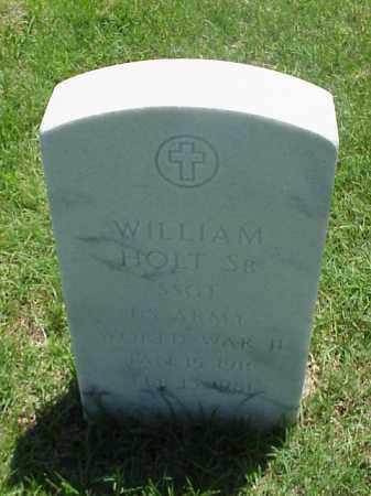 HOLT, SR (VETERAN WWII), WILLIAM - Pulaski County, Arkansas | WILLIAM HOLT, SR (VETERAN WWII) - Arkansas Gravestone Photos