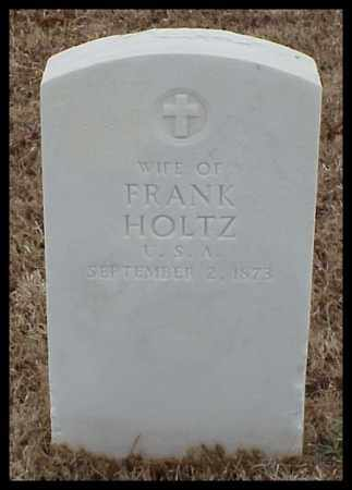 HOLTZ, WIFE - Pulaski County, Arkansas | WIFE HOLTZ - Arkansas Gravestone Photos