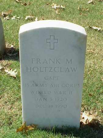 HOLTZCLAW  (VETERAN WWII), FRANK M - Pulaski County, Arkansas | FRANK M HOLTZCLAW  (VETERAN WWII) - Arkansas Gravestone Photos