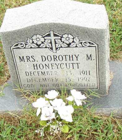 HONEYCUTT, DOROTHY M. - Pulaski County, Arkansas | DOROTHY M. HONEYCUTT - Arkansas Gravestone Photos