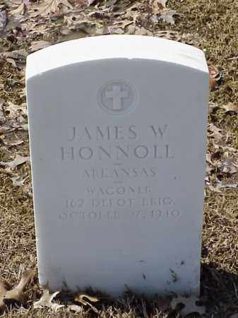 HONNOLL (VETERAN WWI), JAMES W - Pulaski County, Arkansas | JAMES W HONNOLL (VETERAN WWI) - Arkansas Gravestone Photos