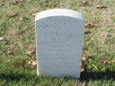 HOOD  (VETERAN WWI), SHERMAN - Pulaski County, Arkansas | SHERMAN HOOD  (VETERAN WWI) - Arkansas Gravestone Photos