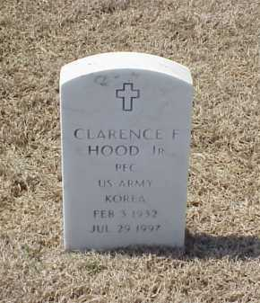 HOOD, JR (VETERAN KOR), CLARENCE F - Pulaski County, Arkansas | CLARENCE F HOOD, JR (VETERAN KOR) - Arkansas Gravestone Photos