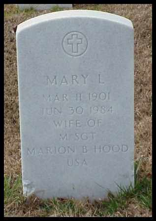 HOOD, MARY L - Pulaski County, Arkansas | MARY L HOOD - Arkansas Gravestone Photos