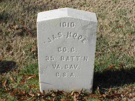 HOOE  (VETERAN CSA), JAMES - Pulaski County, Arkansas | JAMES HOOE  (VETERAN CSA) - Arkansas Gravestone Photos